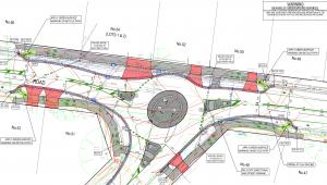 Oban Rd Mullum Mullum Rd Roundabout Design