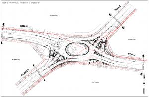 Oban Wonga Rd Roundabout Design